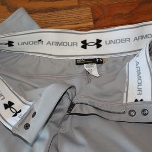 Under Armour Pants - Under Armour Adult Baseball Pant Med